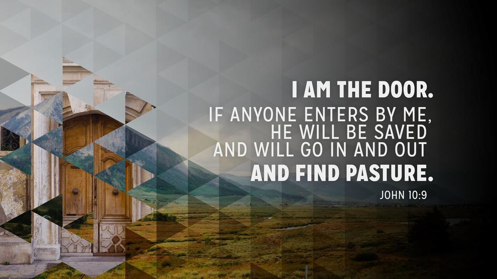 John 10:9 large preview