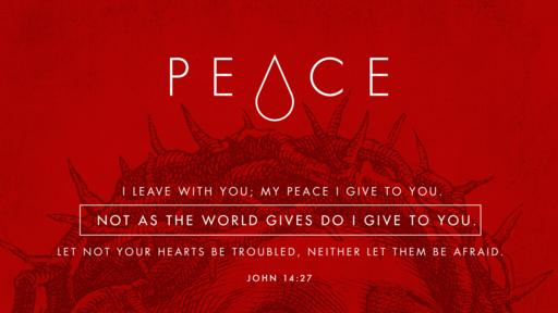 John 14:27 verse of the day image