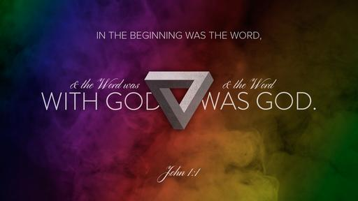 John 1:1 verse of the day image