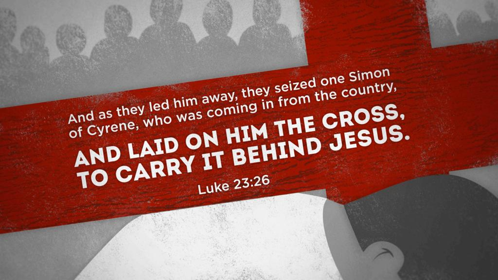 Luke 23:26 large preview
