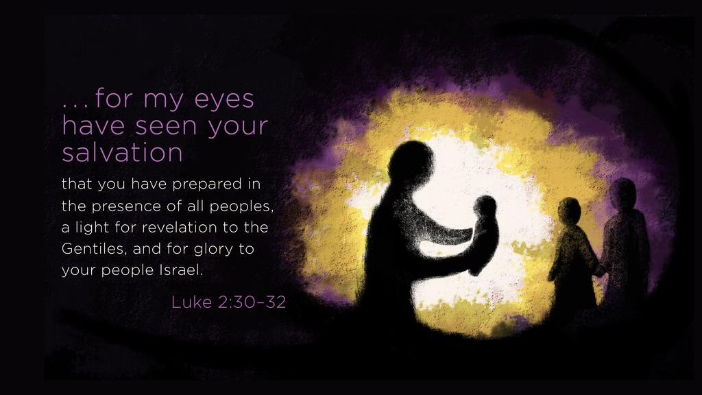 Luke 2:30–32 large preview
