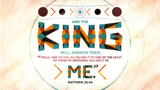 Matthew 25:40 verse of the day image