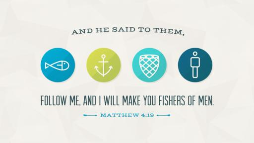 Matthew 4:19 verse of the day image