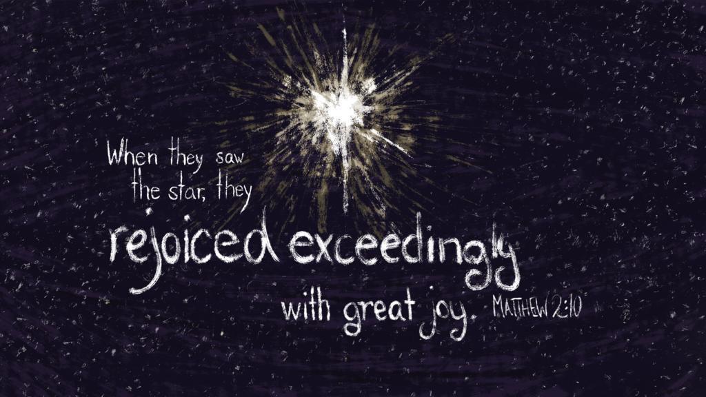 Matthew 2:10 large preview