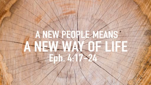 A new people means a new way of life