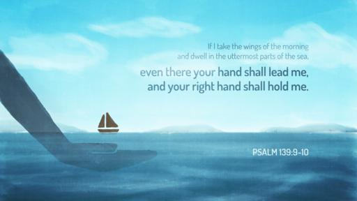 Psalm 139:9–10 verse of the day image