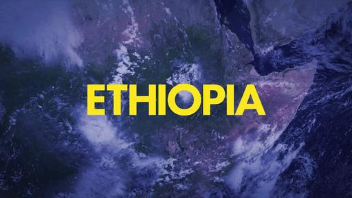 Blue World Map - Go Into All the World - Ethiopia