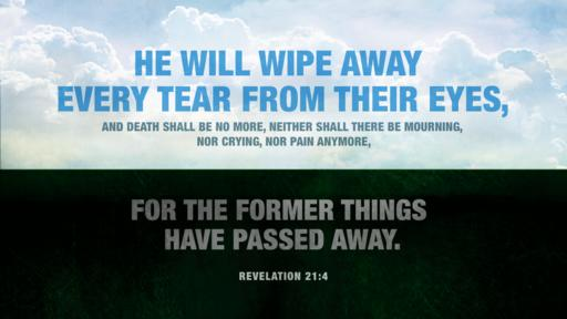 Revelation 21:4 verse of the day image