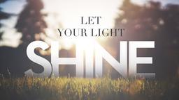Let Your Light Shine  PowerPoint Photoshop image 1