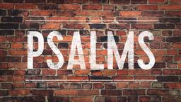 Psalms - Brick Wall  PowerPoint Photoshop image 1