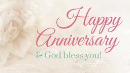 Wedding Anniversary  PowerPoint Photoshop image 1