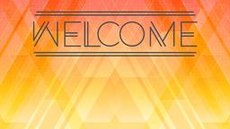 Geometric Dawn welcome 16x9 PowerPoint Photoshop image