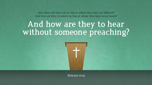 Romans 10:14 verse of the day image