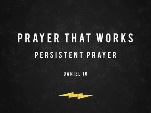 Pray with Persistance
