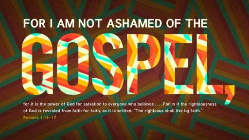 Romans 1:16–17 verse of the day image