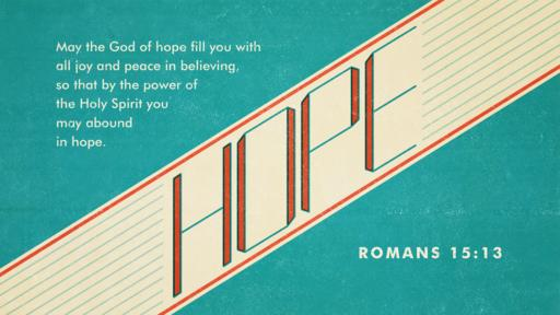 Romans 15:13 verse of the day image