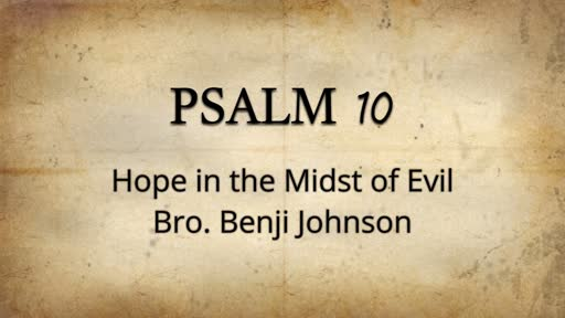 Hope in the Midst of Evil