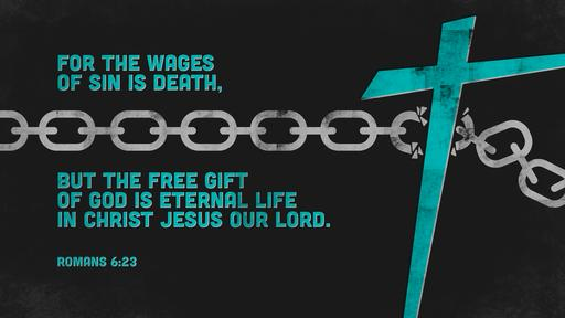 Romans 6:23 verse of the day image