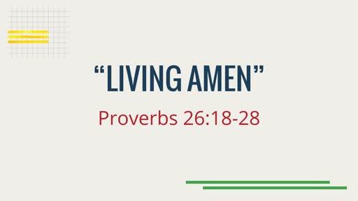 """""""Living Amen"""""""
