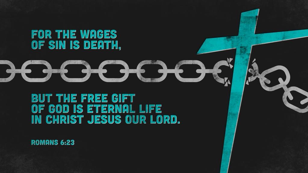 Romans 6:23 large preview