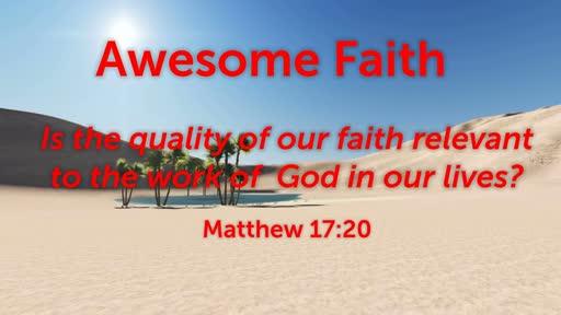 Awesome Faith