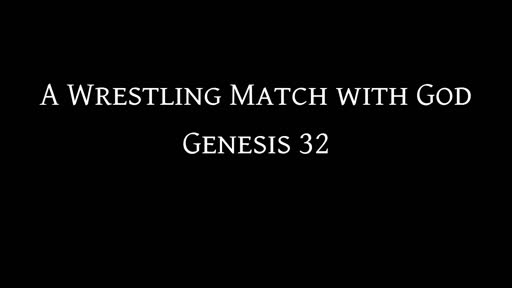 A Wrestling Match with God