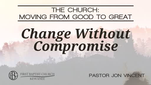 Change Without Compromise