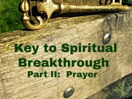 Key #2 - Prayer