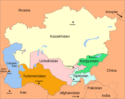 512Px Central Asia - Political Map 2008.Svg