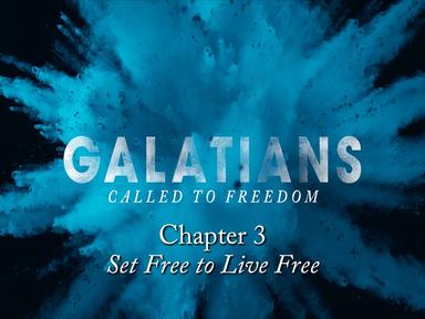 Sunday August 18, 2019 - Galatians 3