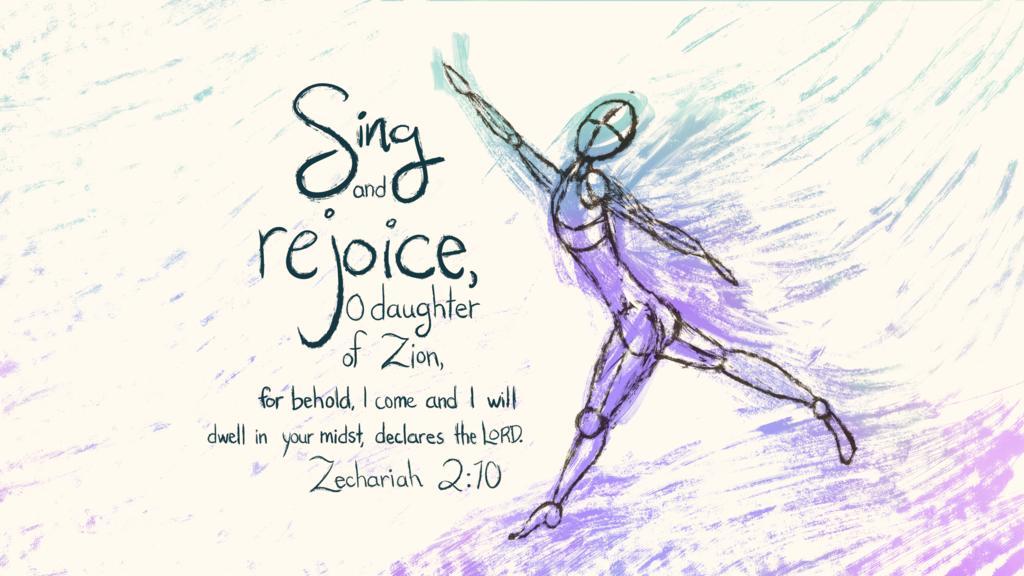 Zechariah 2:10 large preview