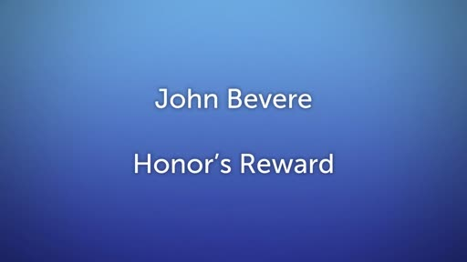 Honor's Reward Lesson  4
