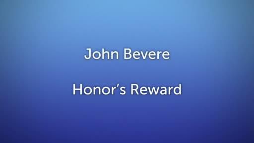 Honor's Reward Lesson  4