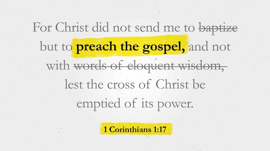 1 Corinthians 1:17 large preview
