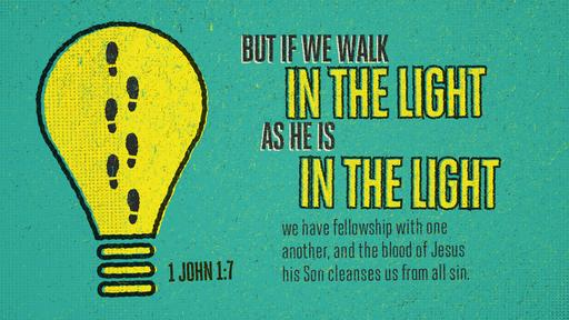 1 John 1:7 verse of the day image