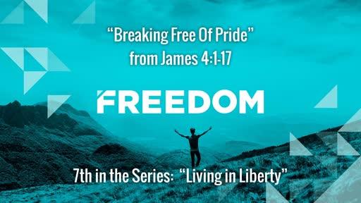 Breaking Free Of Pride