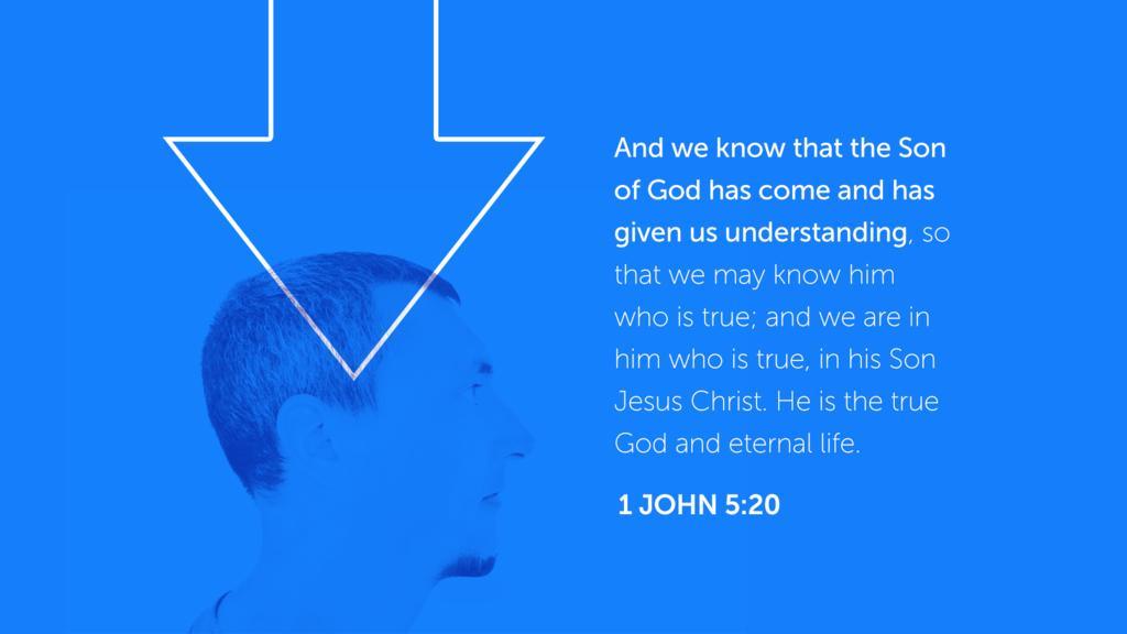 1 John 5:20 large preview