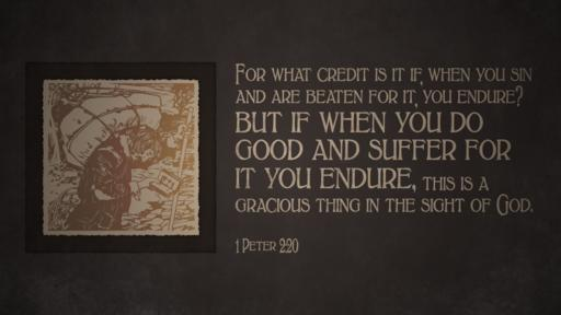 1 Peter 2:20 verse of the day image