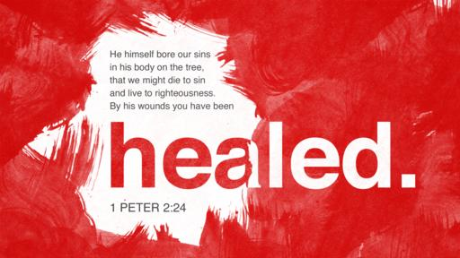 1 Peter 2:24 verse of the day image