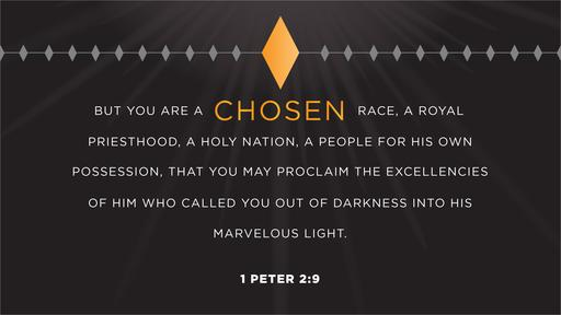 1 Peter 2:9 verse of the day image