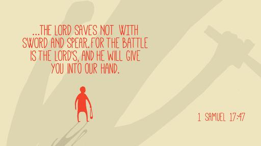 1 Samuel 17:47 verse of the day image