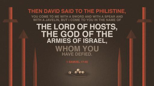 1 Samuel 17:45 verse of the day image