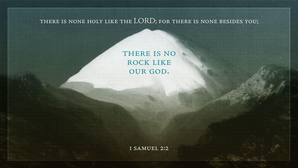 1 Samuel 2:2 large preview