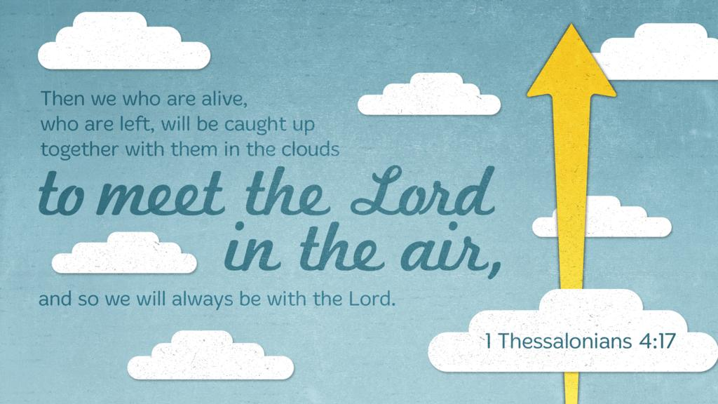 1 Thessalonians 4:17 large preview