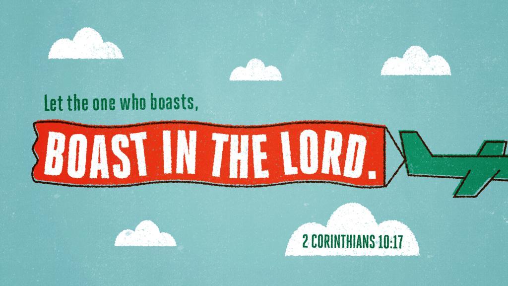 2 Corinthians 10:17 large preview