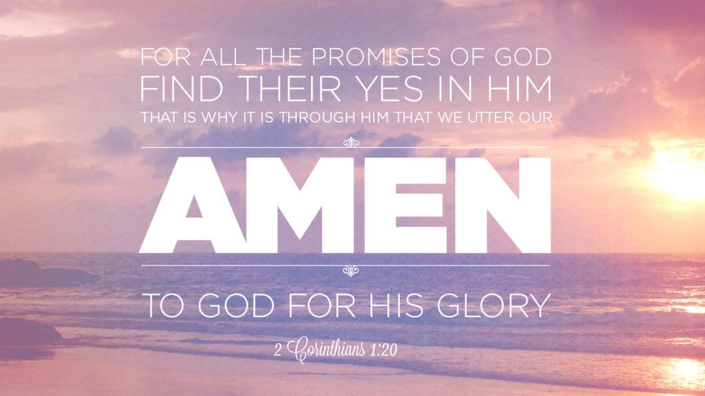 2 Corinthians 1:20 large preview