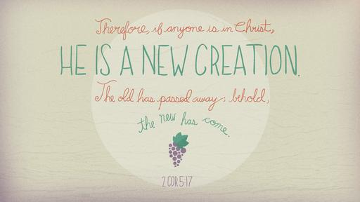 2 Corinthians 5:17 verse of the day image