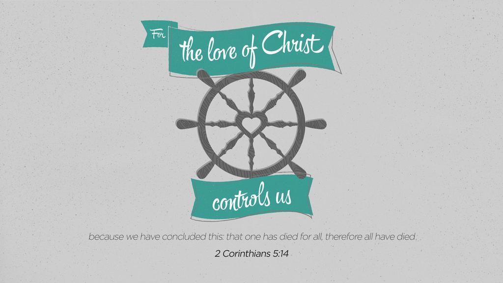 2 Corinthians 5:14 large preview