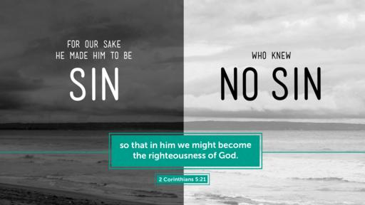 2 Corinthians 5:21 verse of the day image
