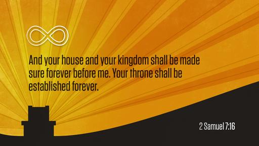 2 Samuel 7:16 verse of the day image